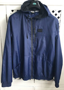 Everlast Rain Shower Jacket Size XL Blue with Mesh Lining Great Condition