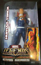 """Johnny Storm Human Torch Flame On Marvel Legends 12"""" Icons Series Hasbro Variant"""