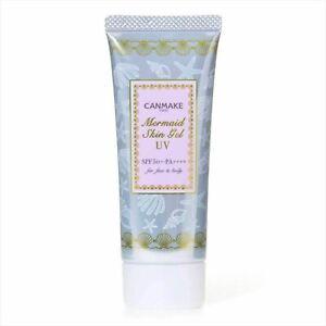 CANMAKE Tokyo Mermaid Skin Gel UV01 Sunscreen SPF50+ PA++++ 40g JAPAN NEW F/S