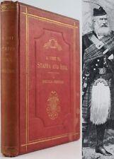 1894*TRIP FROM CALLANDER TO STAFFA & IONA*FERGUSON*HEBRIDES*SCOTTISH TOUR*ILLUS.