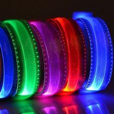 LED Armband Leuchtband Jogging Sicherheitsband Klettband Reflektorband Outdoor