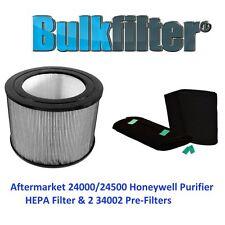 Aftermarket 24000/24500 Honeywell Purifier HEPA Filter & 2 34002 Pre-Filters