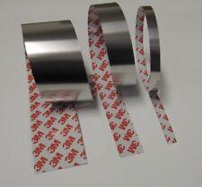 1m selbstklebendes Edelstahlband Breite: 12,7mm Stärke: 0,20mm