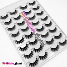 💛WHOLESALE Lashes 16 PAIRS 3D Silk MINK Eyelashes~Start Your Business US SELLER
