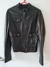 Calvin Klein Leather jacket medium ladies