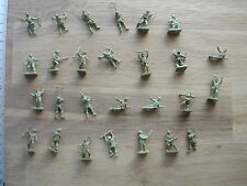 US ARMY MEN WW2/39-45 AIRFIX ? ATLANTIC ?    1/72 MINIATURE  #M289