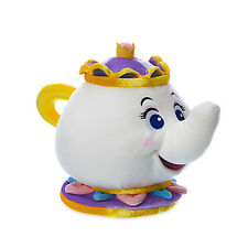 Authentic Disney Mrs Potts Plush - Beauty and the Beast Teapot Soft Doll 19cm