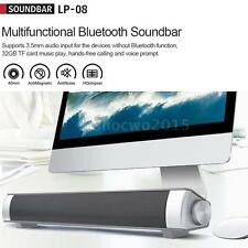 3D Surround Sound Bar System Subwoofer Wireless Bluetooth Soundbar Home Speaker
