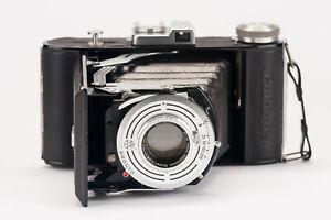 Balda Baldafix Balgenkamera Klappkamera Kamera München Ennar 4.5 105mm Optik