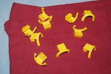 A Lego Lot 10 Yellow Mudguard 50745 4435 41134 3221 7993