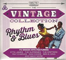 THE VINTAGE COLLECTION RHYTHM & BLUES R&B 3 CD SET ETTA JAMES THE SUPREME MORE