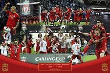 Liverpool FC Copa Ganadores 2012 - Maxi Póster 91.5cm x 61cm nuevo y sellado