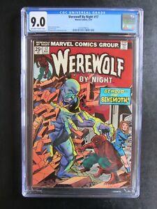 Werewolf By Night Lot of 3 CGC 9.0 17, 18, 19 Werewolves Vampires 1974