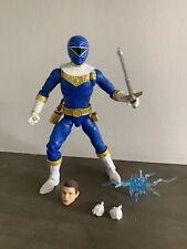 Power Rangers Lightning Zeo Blue Ranger Figure