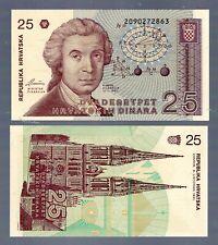 CROATIA IN EUROPE, 1 NOTE OF 25 DINARA 1991,  P-19,