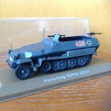 Atlas Editions Hanomag SkKfz 251/1 German WWII Halftrack 1/43