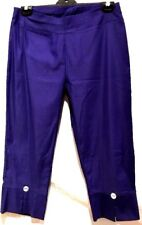 plus sz XXS / 12 TS TAKING SHAPE Dressy Sole  Crop Pant  stretch comfy NWT!