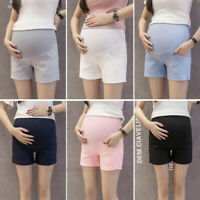 Maternity Active Shorts Pants Adjustable Trousers Pregnancy Stretchable Workout