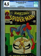 Amazing Spider-man #35 CGC 4.5 1966 Marvel Comic 2nd Molten Man K28