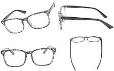 Agstum Full Rim Women Men Plain Eyeglasses Clear Lens Optical Glasses Frame Rx