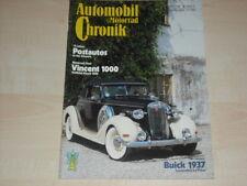 P0147) Vincent 1000 - DKW F8 - VW Kübel Typ 82 - Automobil Chronik 09/1982