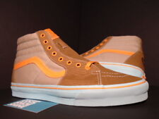 VANS SK8-HI GORILLA BISCUITS SILVER MINK BROWN ORANGE BLUE DEFCON VN-0KYA1Z1 9.5