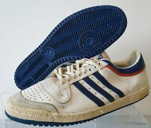 Adidas Top Ten Low 80's Sneakers Basketball Shoes Vintage Original  UK 17 France