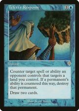 Teferi's Response Invasion NM-M Blue Rare MAGIC THE GATHERING MTG CARD ABUGames
