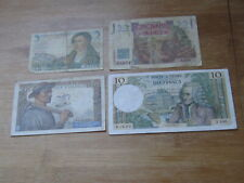 Lot of 4 World Paper Money #1483