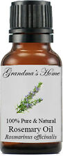 Rosemary Essential Oil - 15 mL - 100% Pure and Natural - Free Shipping