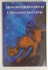 Heroes and HOBGOBLINS by L Sprague de Camp SIGNED LTD ED- High Grade
