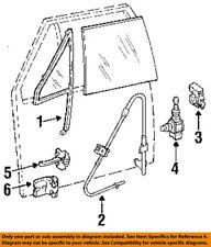 Jeep CHRYSLER OEM 84-96 Cherokee DOOR-Hinge Assembly 5014090AA