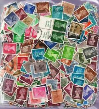 S18069/02  Stamps off Paper  QEII Decimal  MACHINS  100 grams
