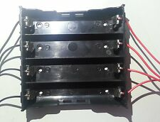 Battery Case Box Holder for 4x 18650 Li-ion 3.7V Batteries Cell in parallel
