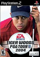 Tiger Woods PGA Tour 2004 (Sony PlayStation 2, 2003) PS2, Disc Only, Tested