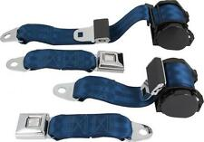 1978 - 1982 Corvette C3 Complete 3 Point Seat Belt System (Choose Color)