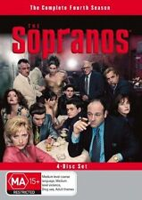 THE SOPRANOS - THE COMPLETE FOURTH SEASON -  4 DISC SET - REGION 4