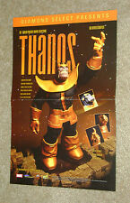 Thanos The Infinity Gauntlet Statue Promotional Poster 2003 Diamond Select 11x17