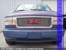 GTG 1995 - 2005 GMC Safari Van 1PC Polished Upper Overlay Billet Grille Grill