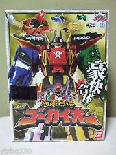Kaizoku Sentai Gokaiger DX Gokaioh  Power Rangers Megazord Figure Bandai NIB
