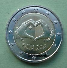 Malta 2 Euro Gedenkmünze 2016 Love Liebe Euromünze commemorative coin
