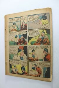 DETECTIVE COMICS # 21 - DC 1938 - COVERLESS - Very Scarce Pre BATMAN INCOMPLETE