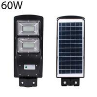 60W 120LED Solar Powered LED Street Light Radar Indution Outdoor Wall Lamp