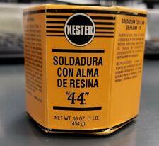 Kester Solder 24 6337 0026 Sn63pb37 44 Rosin Flux 031 1 Lb