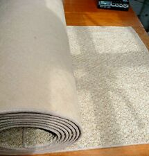 18FT 220 x 29 inches (558 x 74cm) BEIGE HEAVY DOMESTIC CARPET RUNNER  #1780 1781