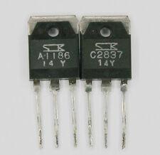 Matched transistors Sanken 2SA1186 + 2SC2837 RetroAudio