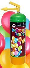 ELIO Balloons Fantasy Helium 0,11m³ Ballongas 1 Liter inkl 12 bunte Rundballons