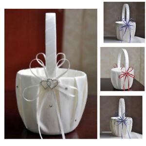 Wedding Baskets Cute Butterfly Heart Diamond Flower Pattern European Style Decor