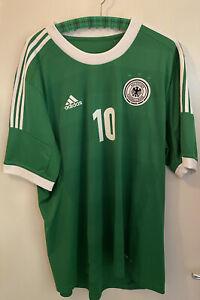 adidas|DFB|Deutschland|EM|Herren|Podolski|Away|Trikot|Grün|2XL|EM|2012