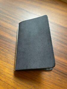 Plotter-Japan Mini5 Notebook Black Leather